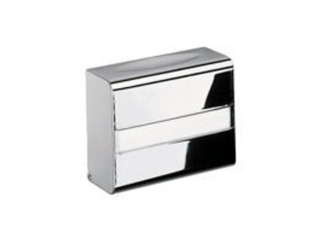 Metal hand towel dispenser A09250 | Hand towel dispenser by INDA®