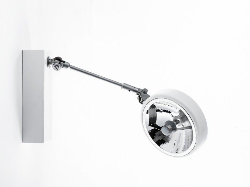Adjustable extruded aluminium spotlight EXTENSOR | Spotlight by LUCIFERO'S