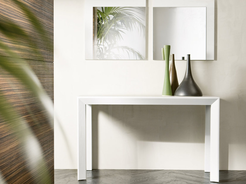 Extending solid wood console table EXTRA - Pacini & Cappellini