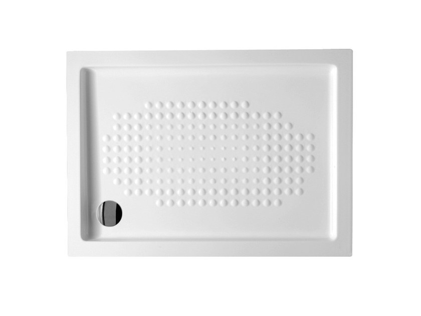 Built-in rectangular extra flat shower tray EXTRATHIN | Rectangular shower tray - Alice Ceramica