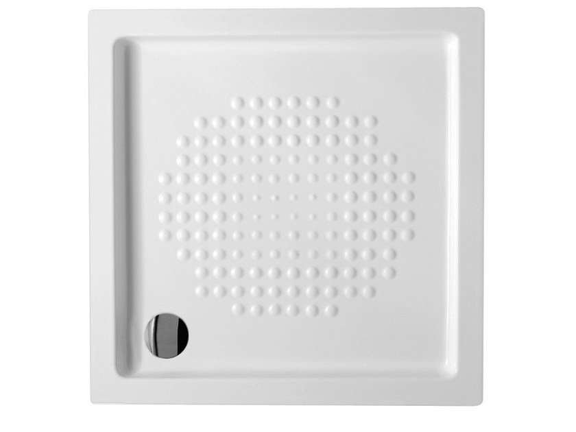 Built-in square extra flat shower tray EXTRATHIN | Square shower tray - Alice Ceramica