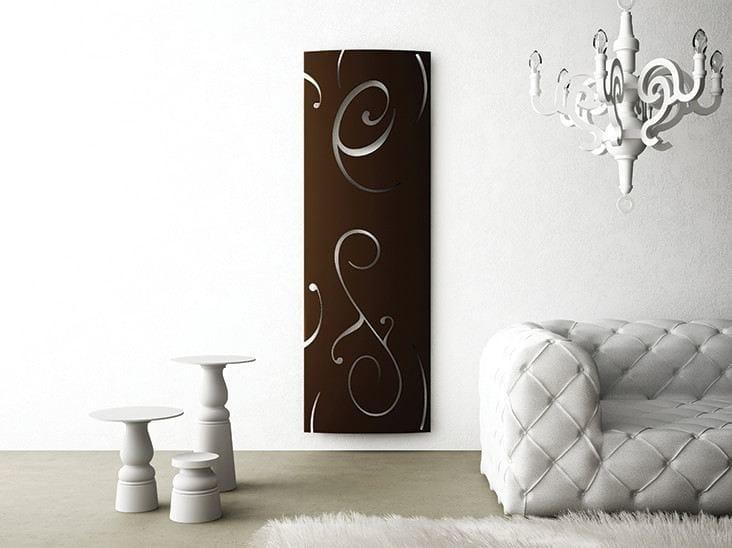 Wall-mounted aluminium radiator EXTRÓ DECO' by RIDEA
