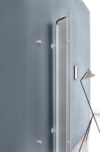 Radiatore in alluminio estruso a parete extr s collezione - Radiatori a parete prezzi ...