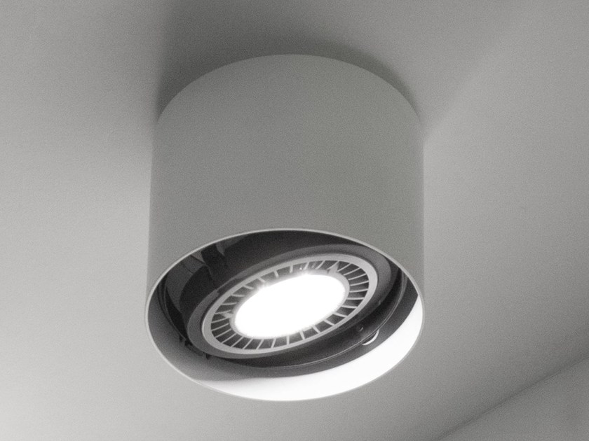 Halogen adjustable ceiling lamp EYE by Martinelli Luce