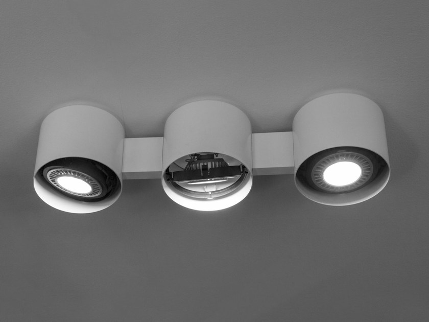LED direct light ceiling lamp EYE by Martinelli Luce