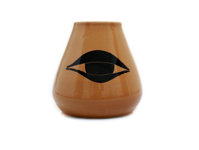 Ceramic vase EYES VI by Kiasmo