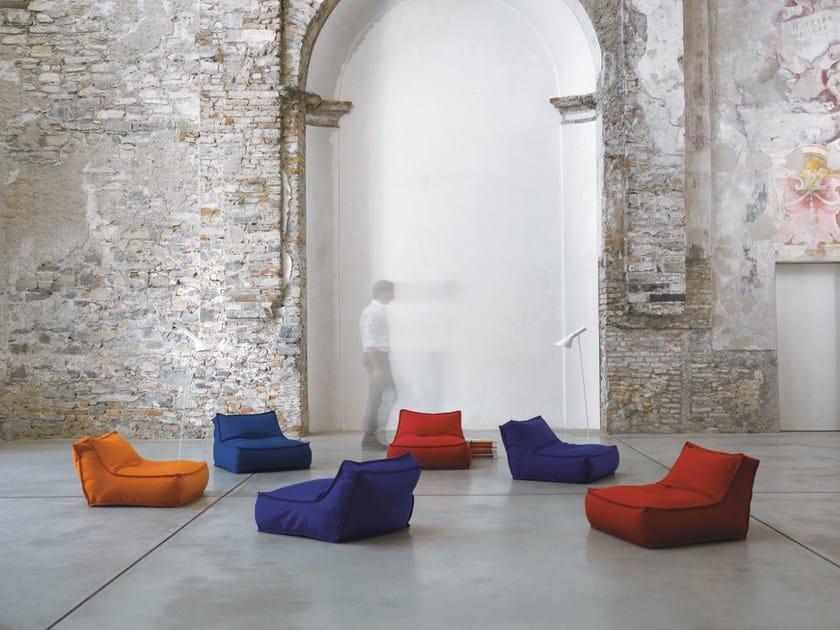 Fabric armchair ZOE | Fabric armchair by Verzelloni