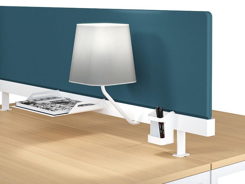 Pannello divisorio da scrivania modulare in tessuto NEW PORT | Pannello divisorio in tessuto - MANADE