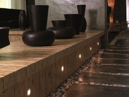 LED aluminium foot- and walkover light FAKI R - BEL-LIGHTING