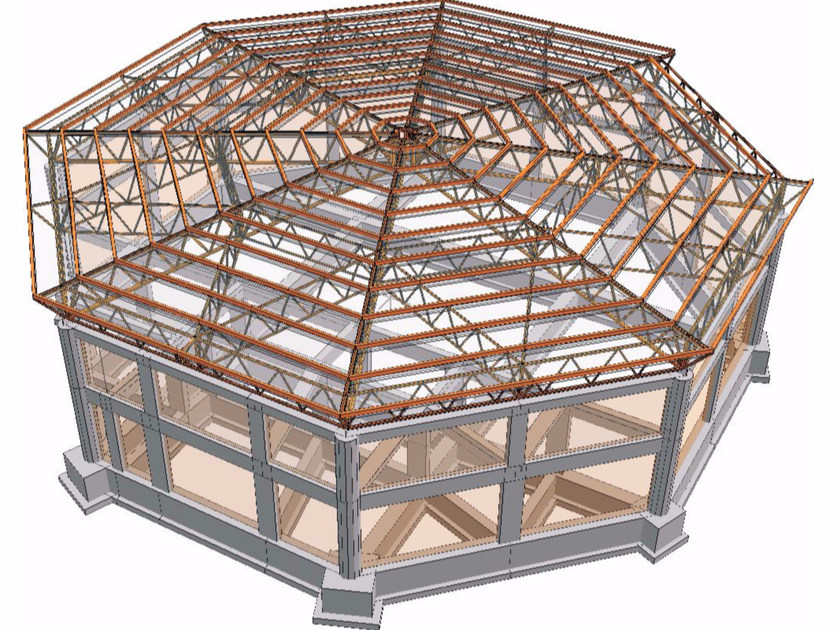 Structural calculation for steel FATA-E | Steel by STACEC