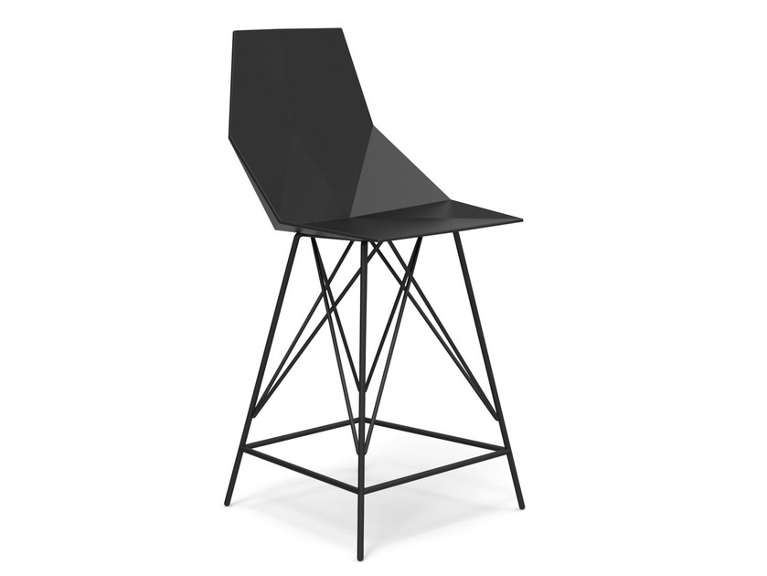 Polypropylene counter stool FAZ | Counter stool - VONDOM