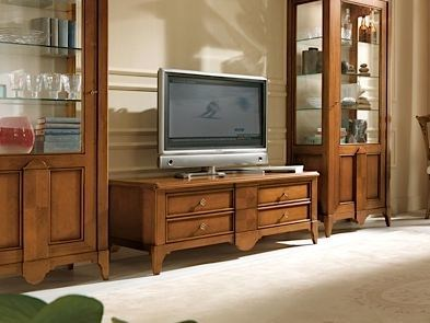 Low wooden TV cabinet SALIERI | TV cabinet by Arvestyle
