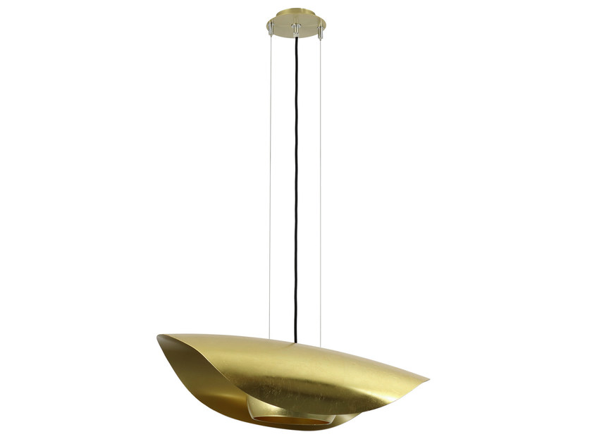 Metal pendant lamp FEELING GOLD - Hind Rabii