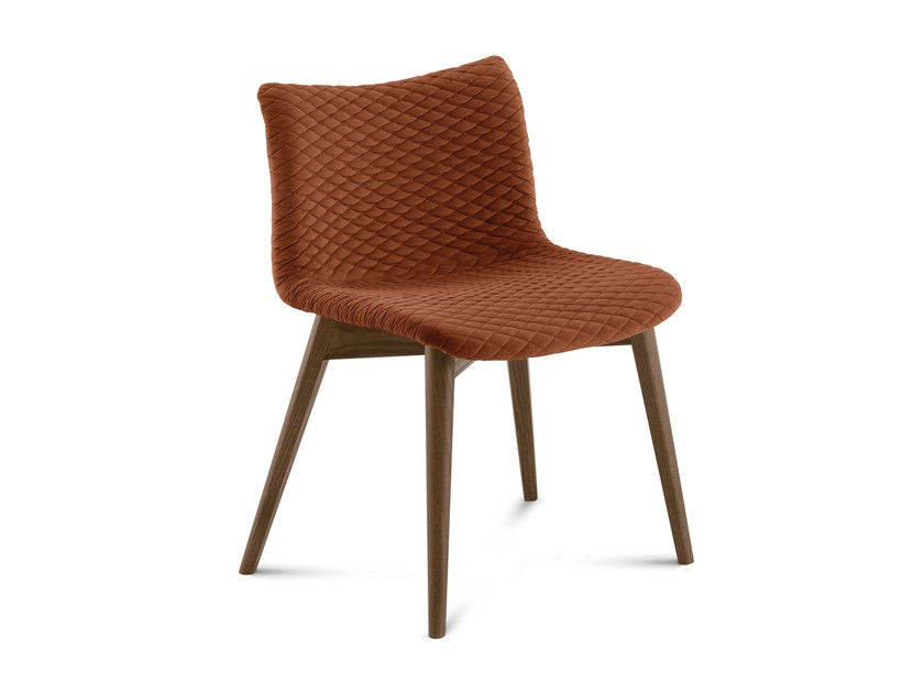 Wooden restaurant chair FENICE-L - DOMITALIA