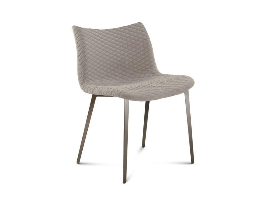 Wooden restaurant chair FENICE-TR - DOMITALIA
