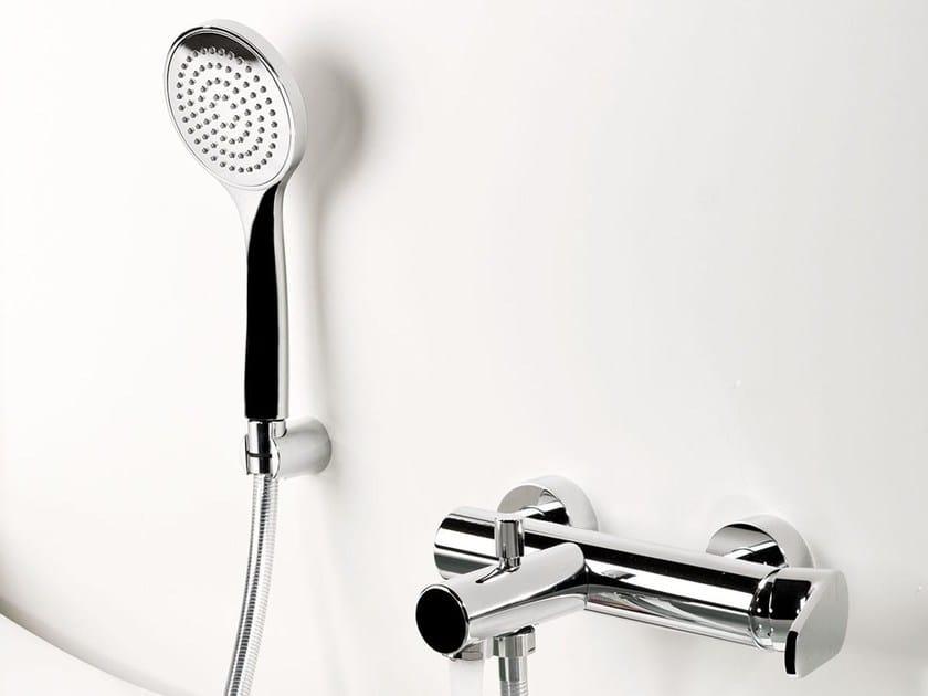Wall-mounted single handle bathtub mixer FEVERPLAT | Bathtub mixer with hand shower - RUBINETTERIE RITMONIO