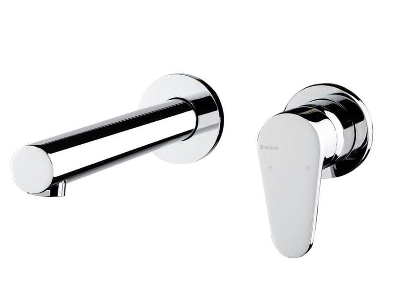 Wall-mounted single handle washbasin mixer FEVERPLAT | Wall-mounted washbasin mixer - RUBINETTERIE RITMONIO