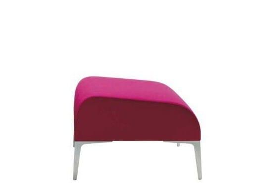 Fabric footstool ALPHABET - FI TALL | Footstool by Segis