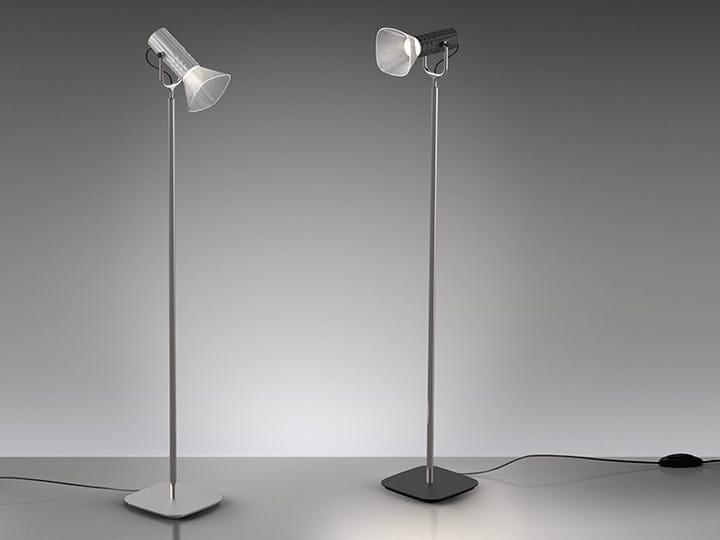 LED direct light floor lamp FIAMMA   Reading lamp - Artemide