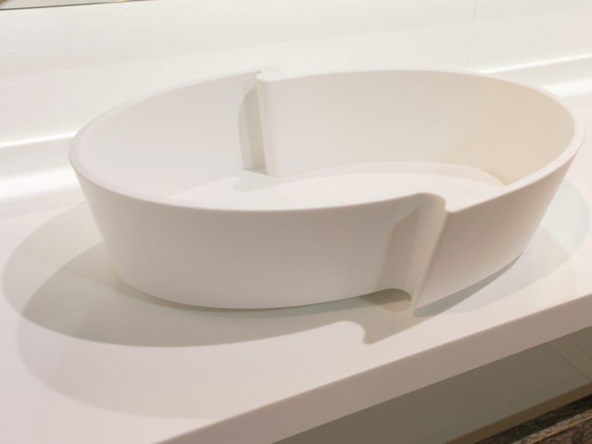 Countertop oval washbasin FIDIA | Countertop washbasin - Rapsel