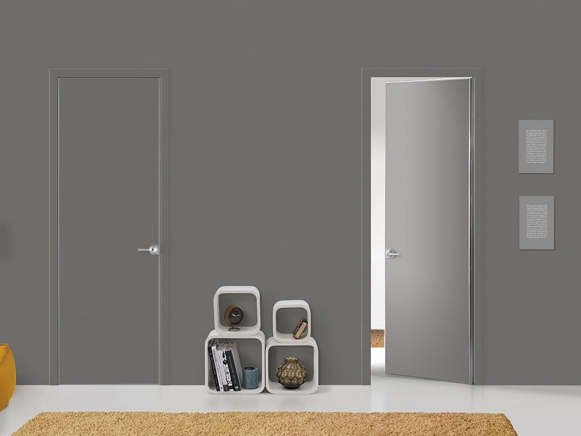 Hinged flush-fitting door FILO A FILO - FOR DECOR - PORTEK by LEGNOFORM