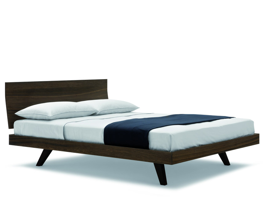 Oak double bed FILO - Silenia