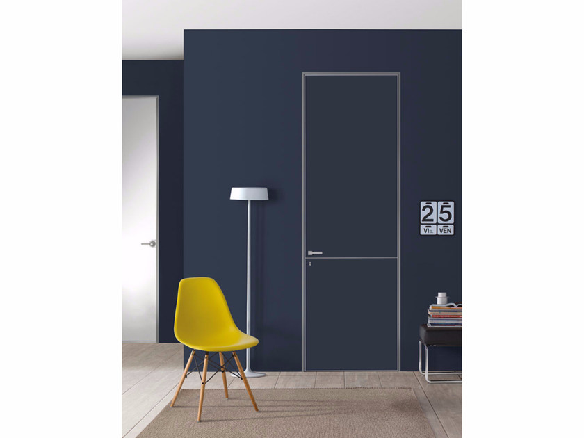 Hinged door without frame FILO ZERO - FOR DECOR - PORTEK by LEGNOFORM