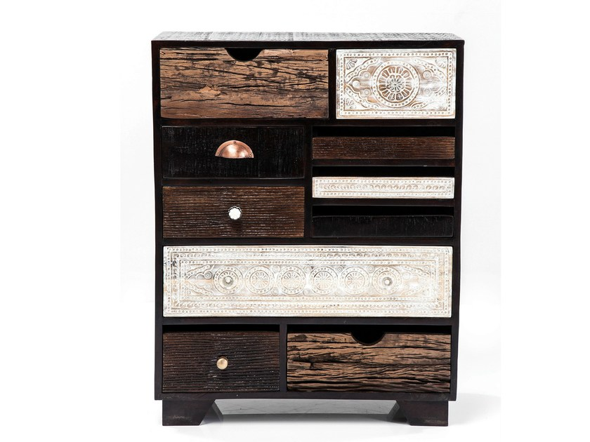 Free standing lacquered wooden chest of drawers FINCA 10 by KARE-DESIGN