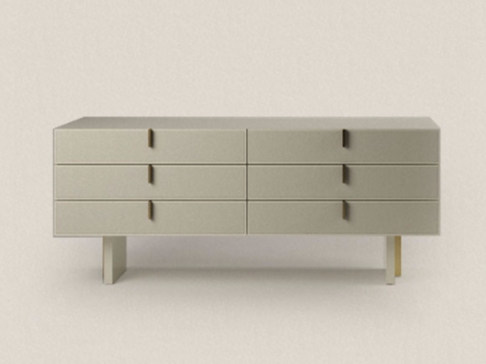 Lacquered chest of drawers CABINET 180A - Paolo Castelli