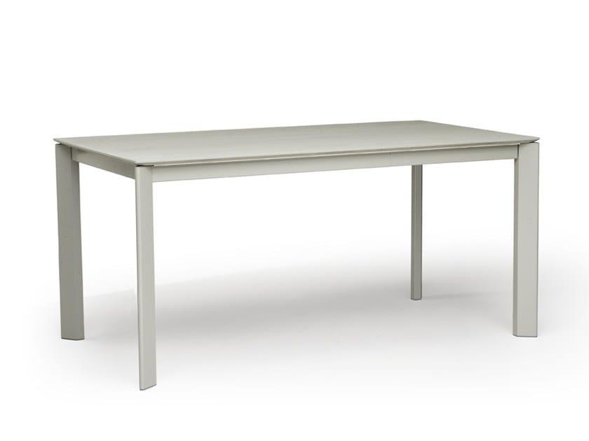 Extending rectangular table FINN by Natisa