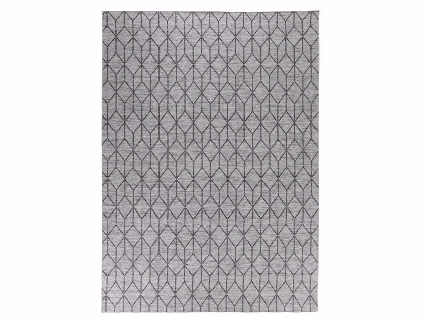Fabric rug with geometric shapes FINSERVE VOL. III. by miinu