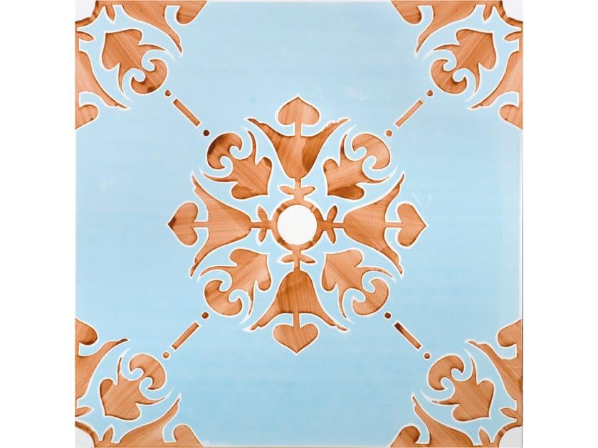 Rivestimento / pavimento in ceramica FIORI GRANDI SIRENUSE by FRANCESCO DE MAIO