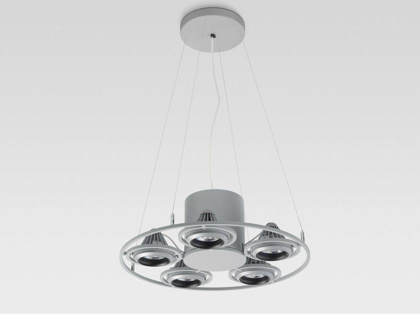 LED pendant lamp FIVESPOT - Reggiani Illuminazione