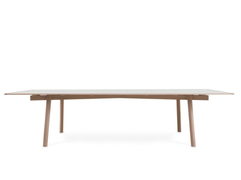 Rectangular wooden table FIX YOUR TABLE | Rectangular table - Moca