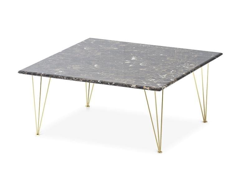Square marble coffee table FLAMINGO | Square coffee table - Felis