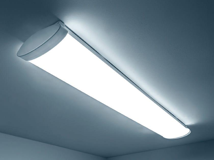 LED PMMA industrial ceiling light FLASH by PLEXIFORM