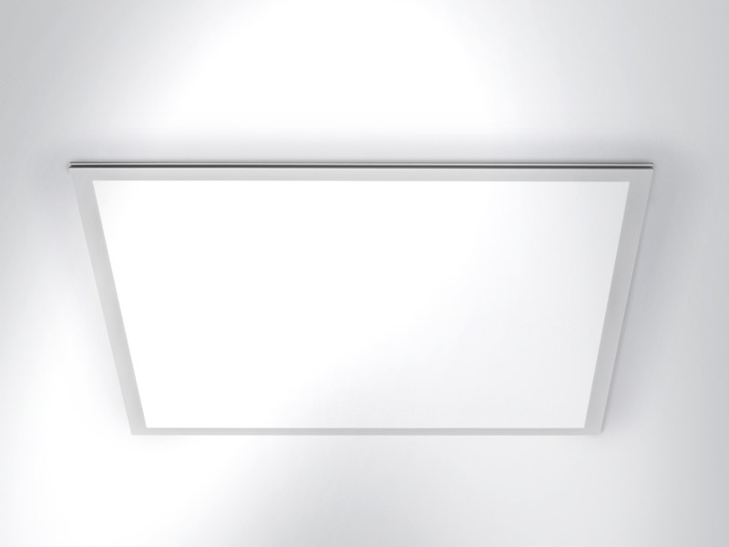 LED direct light ceiling lamp FLAT by Arcluce