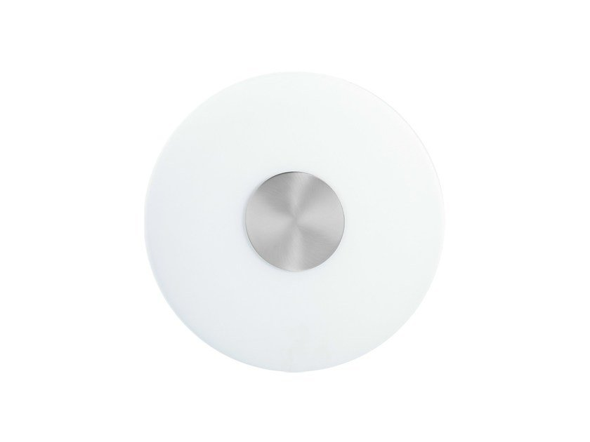 Steel ceiling light FLAT | Ceiling light by ONOK Lighting