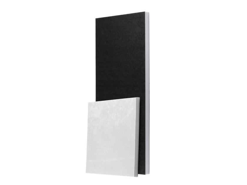 Foam decorative acoustical panel FLAT PANEL TECH F by Vicoustic by Exhibo