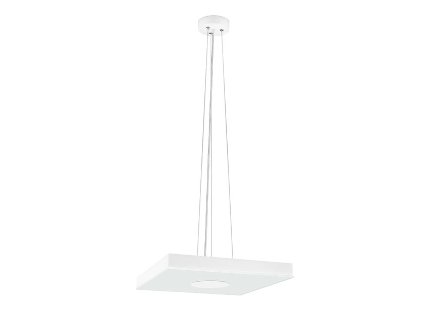 Steel pendant lamp FLAT SQUARE | Pendant lamp - ONOK Lighting