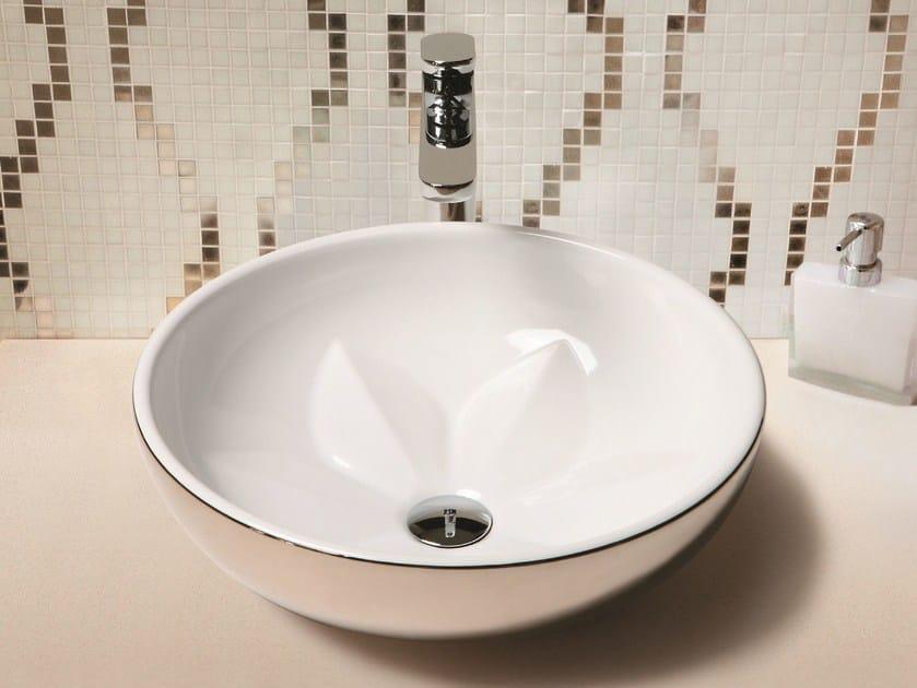 Countertop washbasin FLEUR by AZZURRA sanitari
