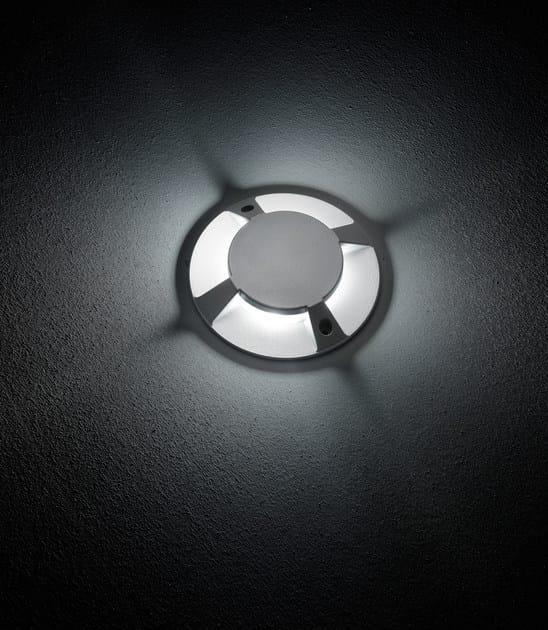 LED walkover light die cast aluminium steplight FLEX.C F.8218 by Francesconi & C.