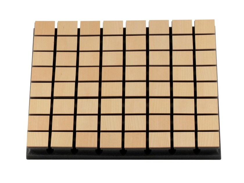 MDF decorative acoustical panels FLEXI WOOD A50 - Vicoustic by Exhibo