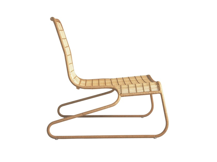 Low chair FLO ARMCHAIR - Driade