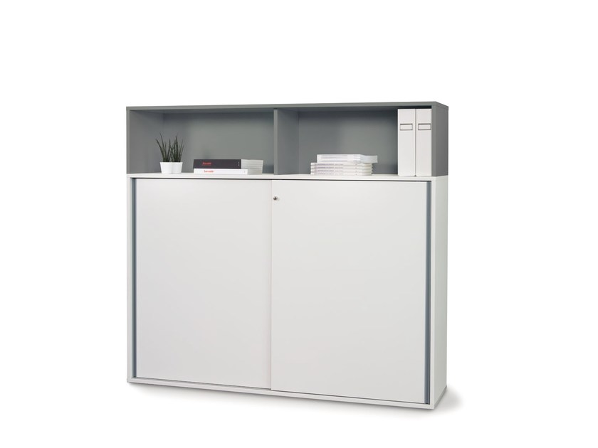 Office storage unit with lock FLOAT_FX | Office storage unit with lock by Wiesner-Hager