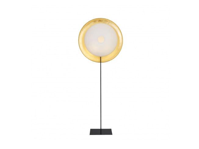 Japanese paper floor lamp PALANQUIN OR | Floor lamp by CFOC