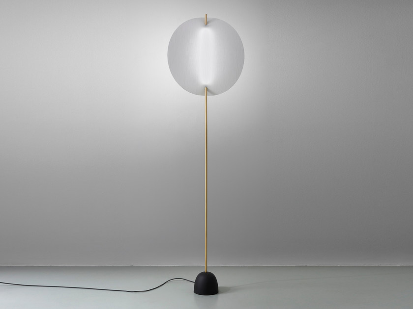 LED direct-indirect light floor lamp EOS   Floor lamp by Artemide