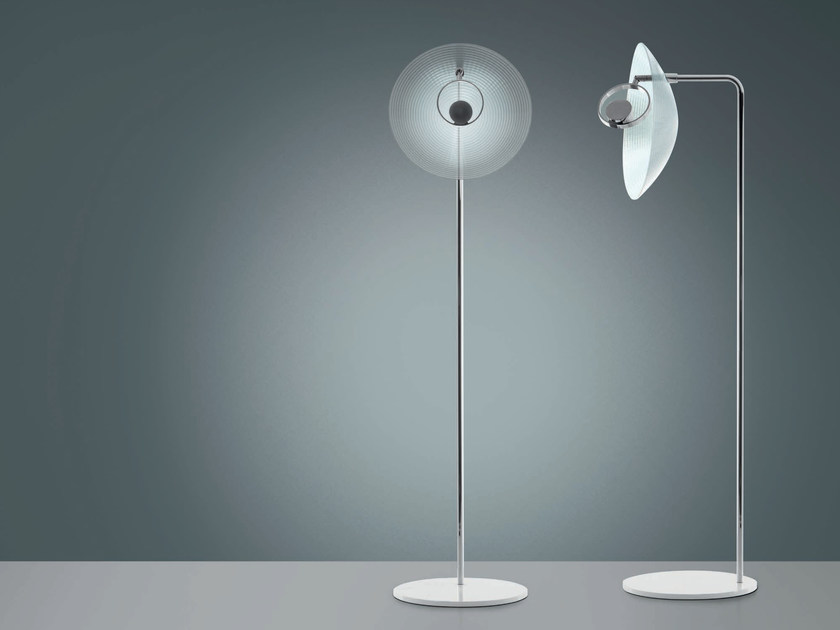 LED indirect light methacrylate floor lamp TRIX | Floor lamp by Artemide