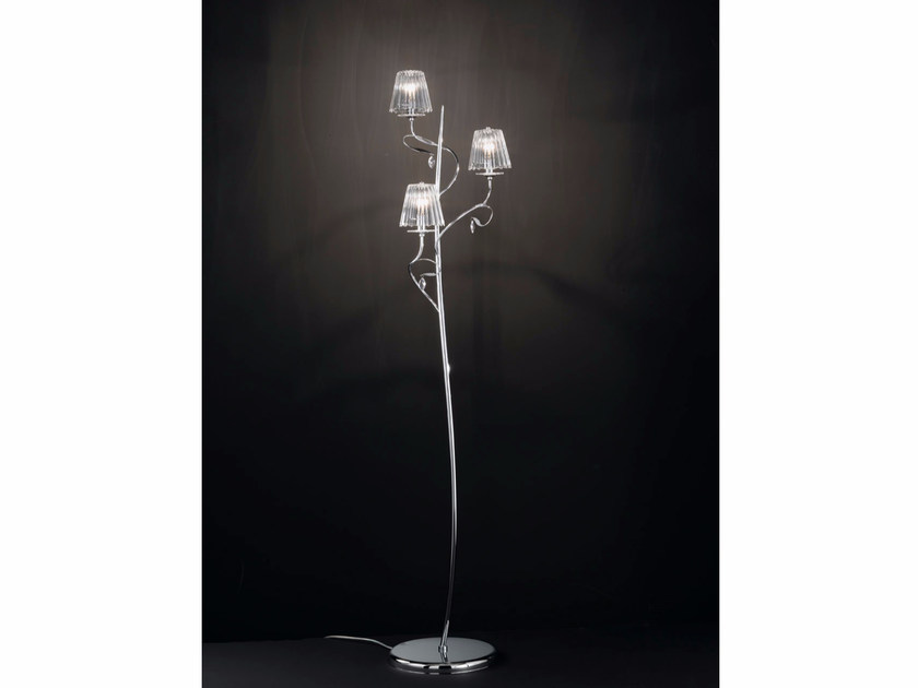 Floor lamp with Swarovski® crystals CHLOÈ | Floor lamp - IDL EXPORT