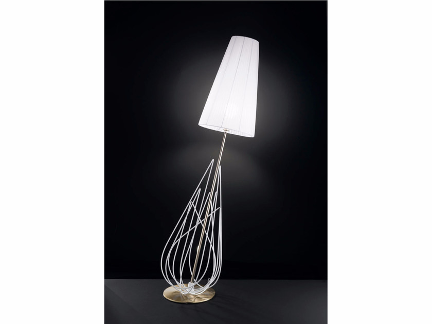 Organza floor lamp FLAME | Floor lamp - IDL EXPORT